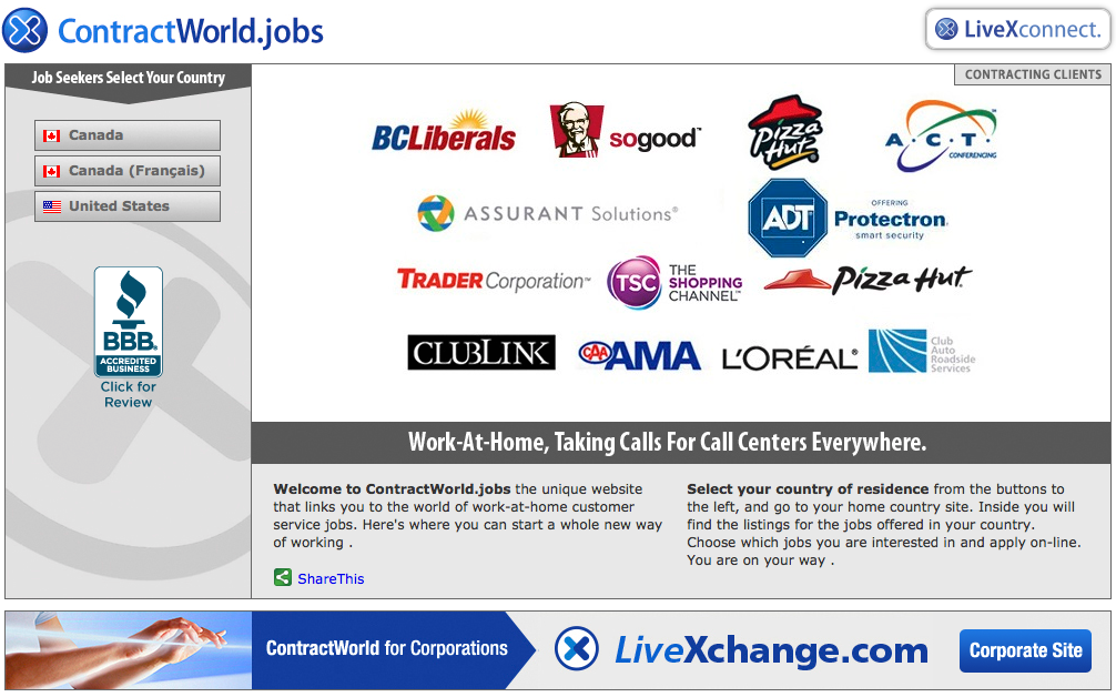 Welcome New Advertiser Contractjobs Com Welcome To Contractworld Jobs The Unique Website That Links You To Customer Service Jobs Contract Jobs Unique Website