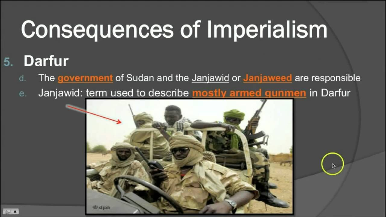 Imperialism to Independence - Darfur (2016)