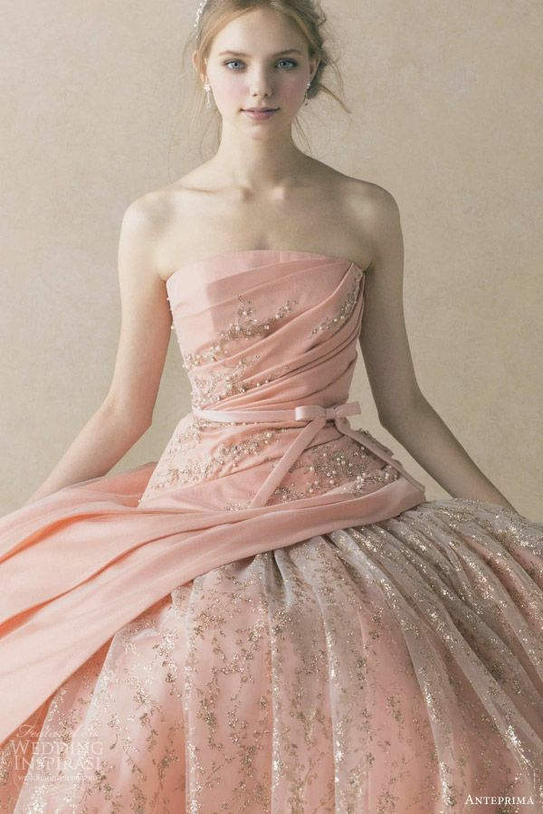 year: 2013 | Pink ball gowns, Wedding and Gowns