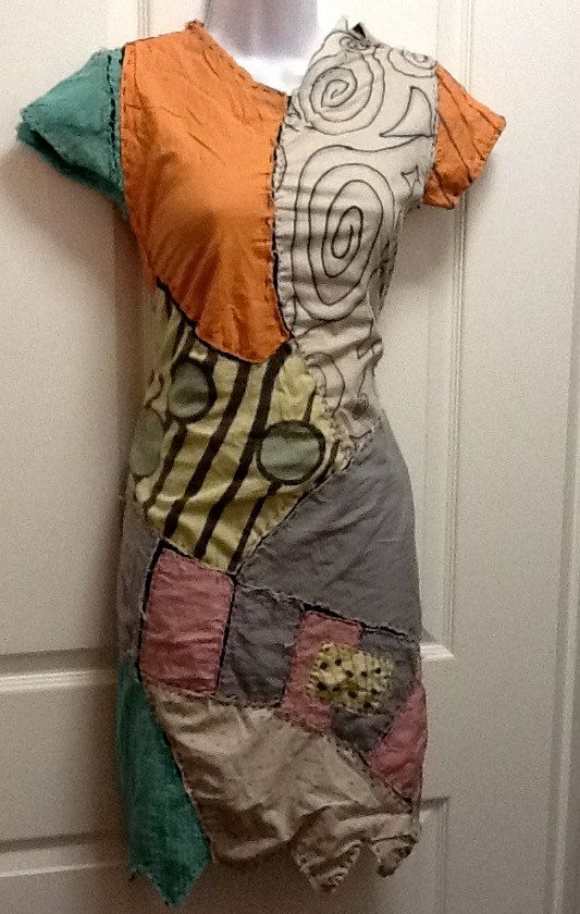 Sally Mae Patched Dress Costume   Fashion   Sally costume ...