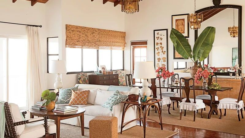 Cozy Coastal Living Room: 20 Beautiful Beach Cottages