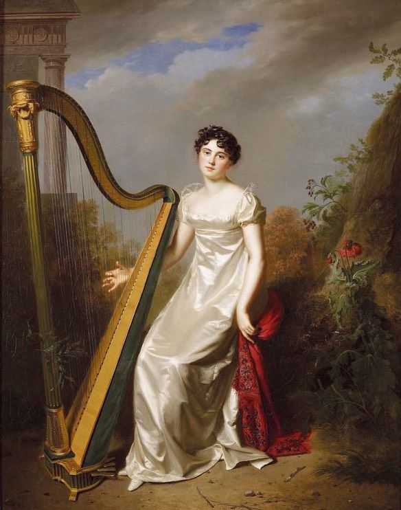 1810 Présumé de la Marquise de Chamillard by Firmin Massot (private collection)