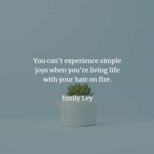 75 Simplicity quotes that'll enforce a good change on you