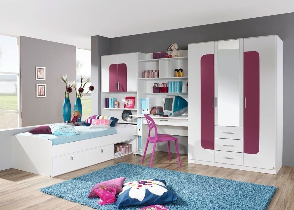 Jugendzimmer komplett weiß hochglanz  Kinderzimmer Jugendzimmer Komplett - Kinderzimmer 2017