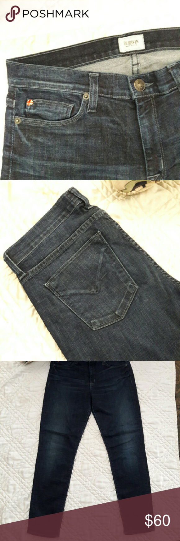 """Hudson Jeans Size 29 Hudson Jeans..very clean in great condition. Inseam 30"""" Just REDUCED FROM $60 TO $40 Hudson Jeans Jeans Skinny"""