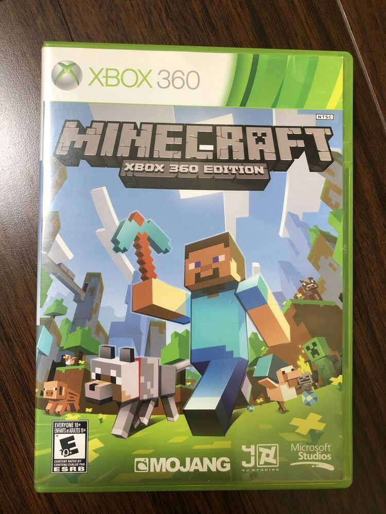 Minecraft (Microsoft Xbox 360 EDITION, 2013) GAME DISC AND