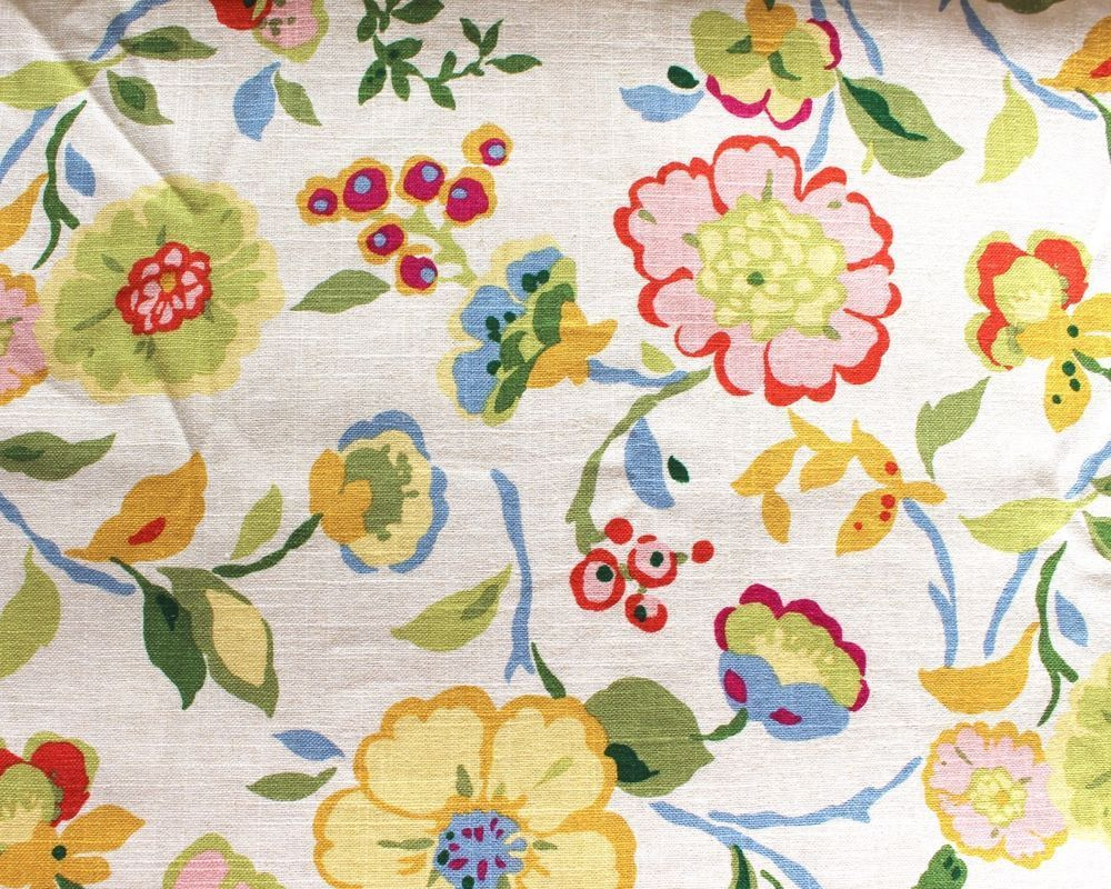 yds mill creek floral drapery sewing fabric purse upholstery