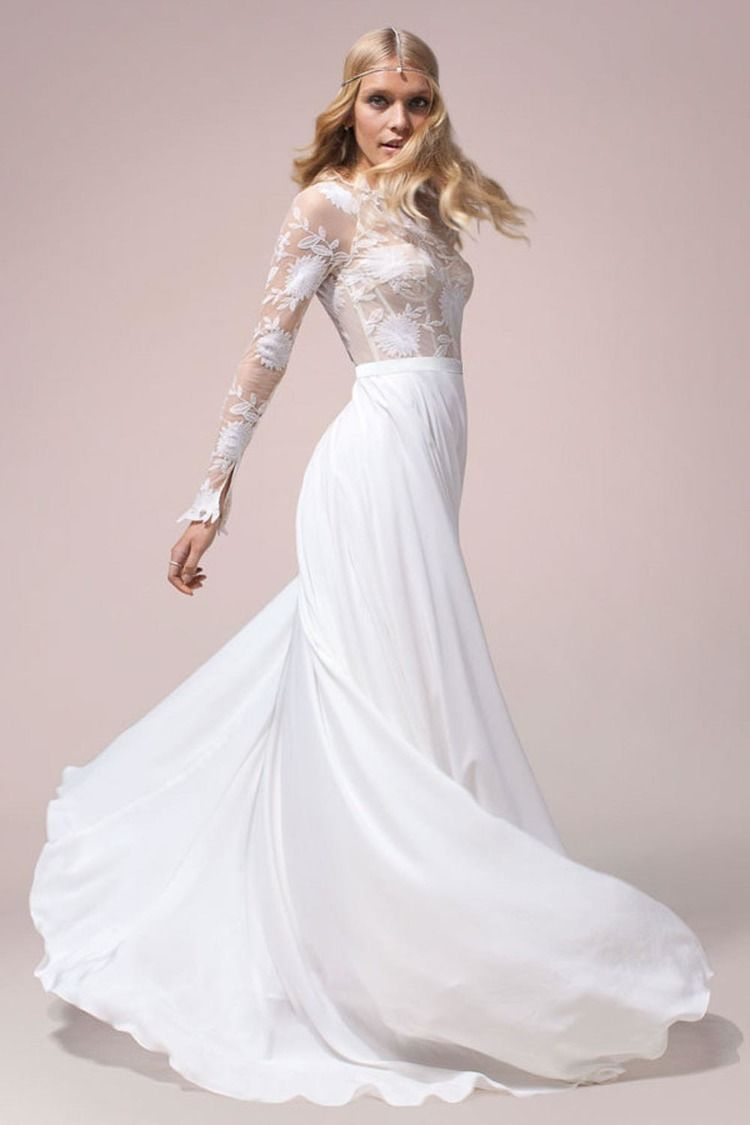 Nomadic love collection rue de seine wedding dress and gowns