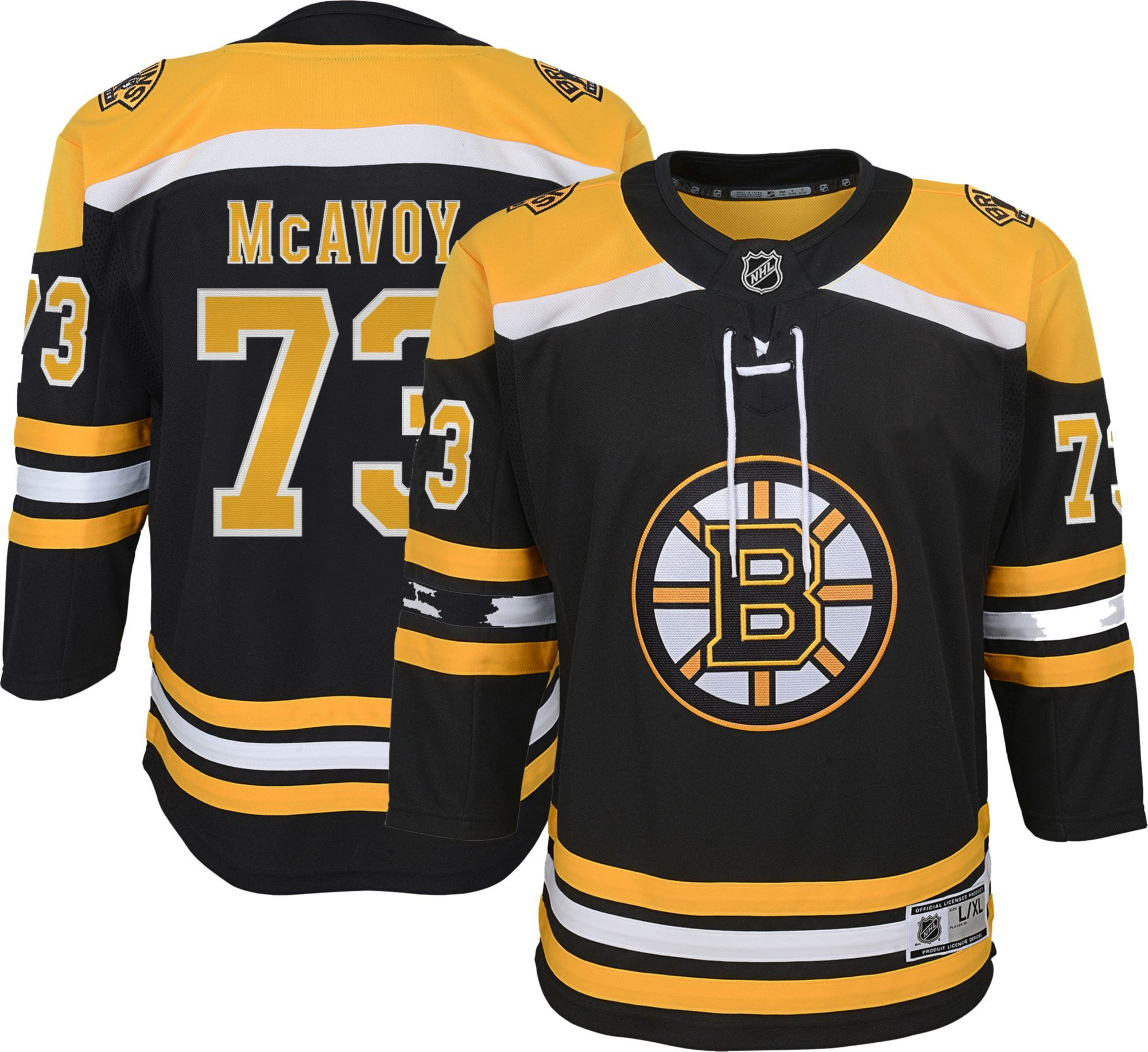 release date: ce216 7d653 NHL Youth Boston Bruins Charlie McAvoy #71 Premier Home ...