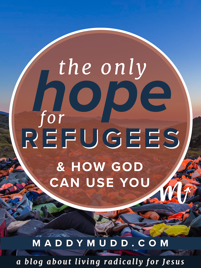 What could I, an American recent college grad, have to offer people who have lost everything to war? To those who have lost friends and family at the hands of Islamic extremism? This is a blog post that explores the refugee crisis from a biblical perspective and demonstrates how God can use any of us to bring the only hope to the hopeless! You will also find some tips about how to respond.  Missions, YWAM, refugees, refugee crisis, God, Jesus Christ, blog, radical, hope, love, faith.