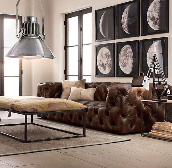 Soho Tufted Leather Sofas Home Tufted Leather Sofa Leather Sofa