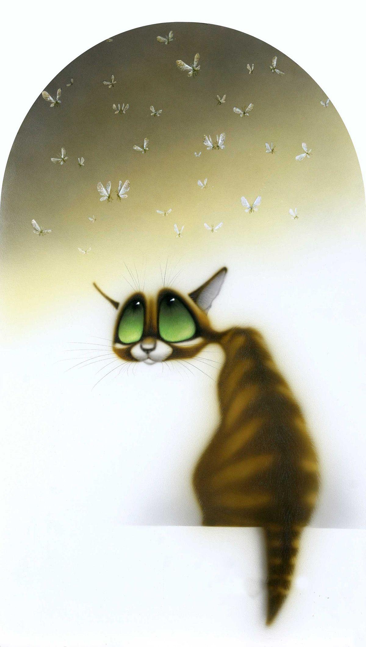 День экологии, смешные фото и рисунки кошек
