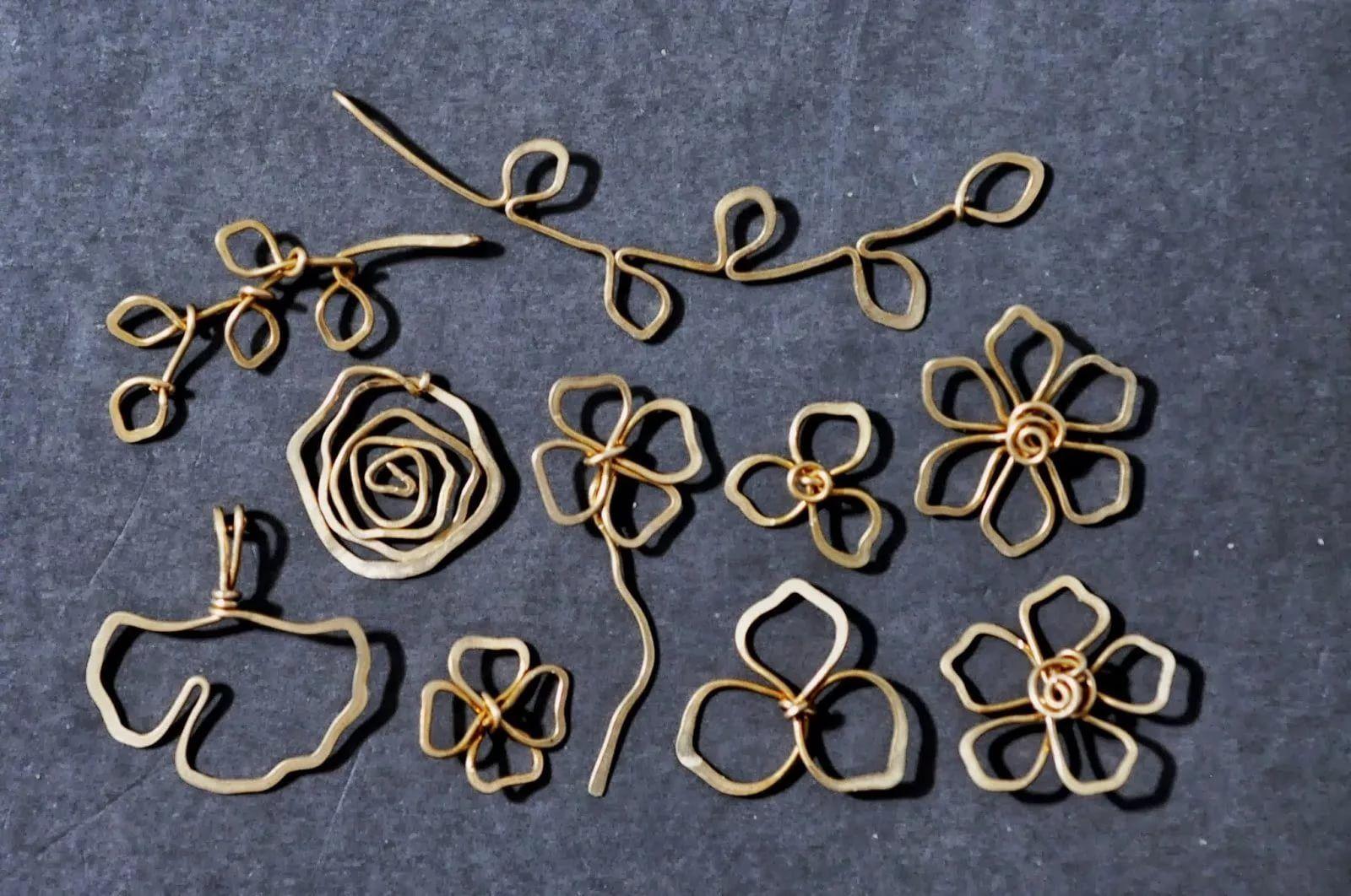 украшения из проволоки в технике wire wrap 10 тыс