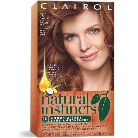 Clairol Natural Instincts Golden Sienna Light Red Semi Permanent Hair Color 1 Kit You Can Find Out More Details At The Link Of Image