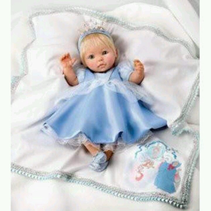 Cinderella Baby Doll Dress On Storenvy: Ashton Drake Cinderella Doll