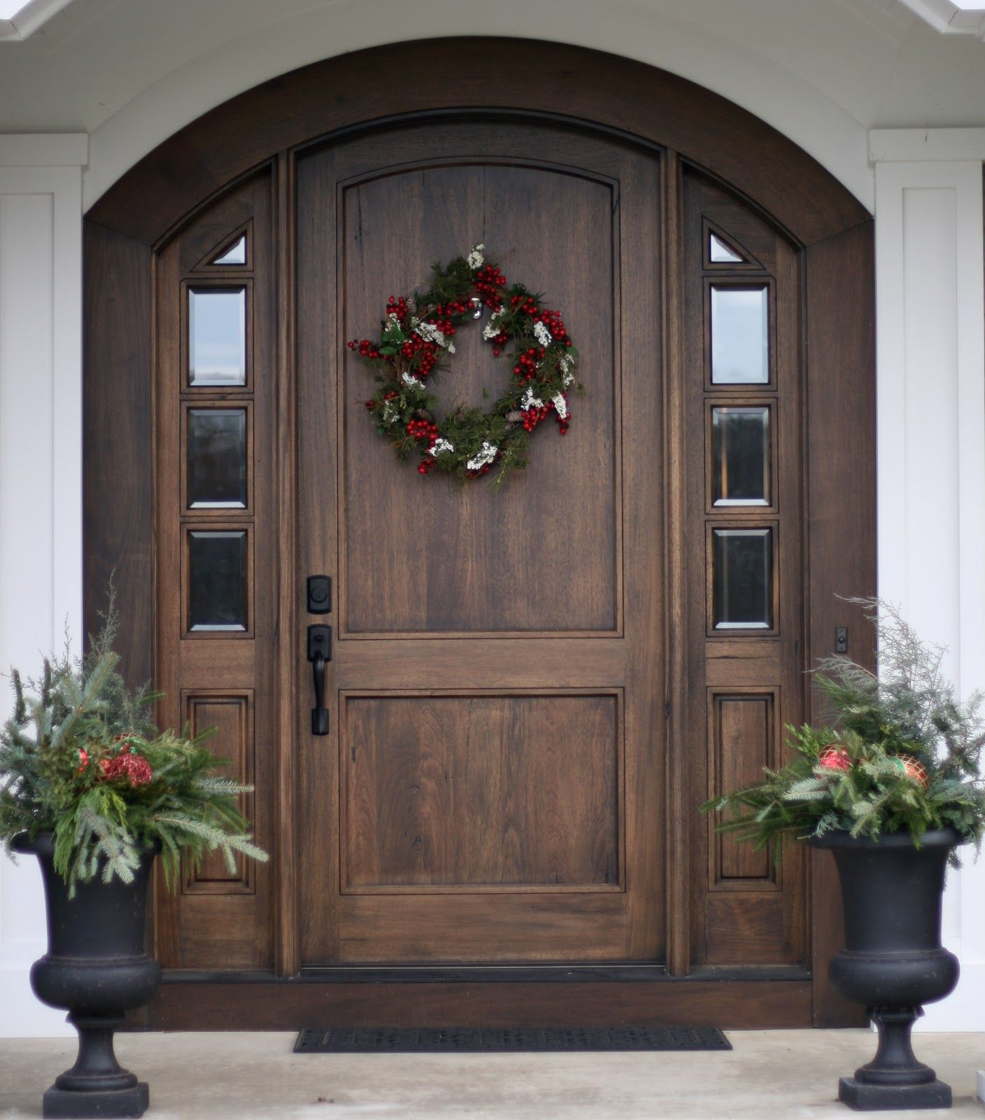 Front door one day i will have a house that will allow me for Wooden door ideas
