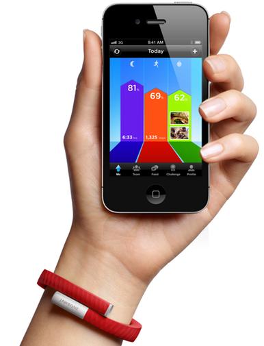 Jawbone's 100 Up wristband tracks your steps and sleep