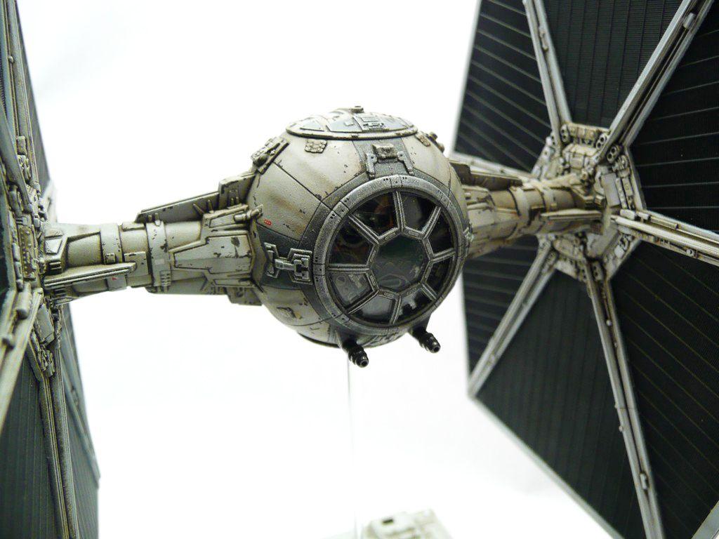 Plastic Corner Star Wars Tie Fighter Ban Dai 1 72 Tie Fighter Star Wars Models Star Wars Spaceships