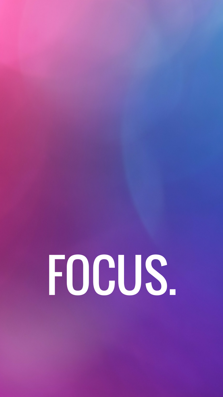 Wallpaper Focus >> Iphone Wallpaper Focus Motivation Wallpapers In 2019 Iphone