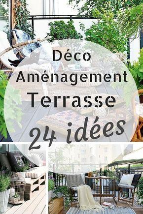 24 Idees Pour Decorer Amenager Une Terrasse Agreable Amenagement Terrasse Deco Terrasse Exterieure Et Idee Deco Terrasse
