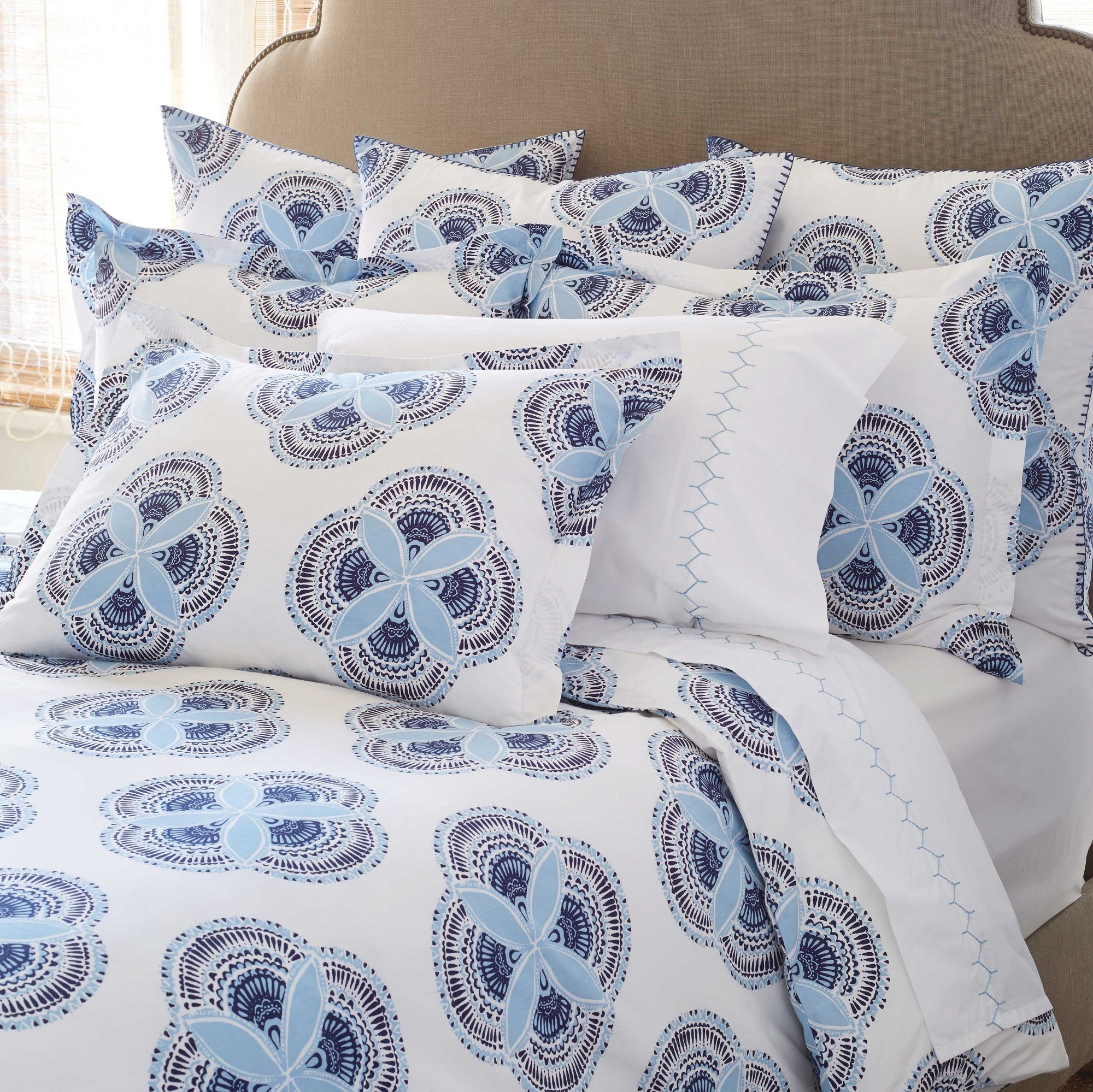 John Robshaw Firat Duvet & Sham Gracious Home Bedding