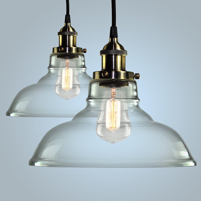 Pendant light hanging glass ceiling mounted chandelier fixture
