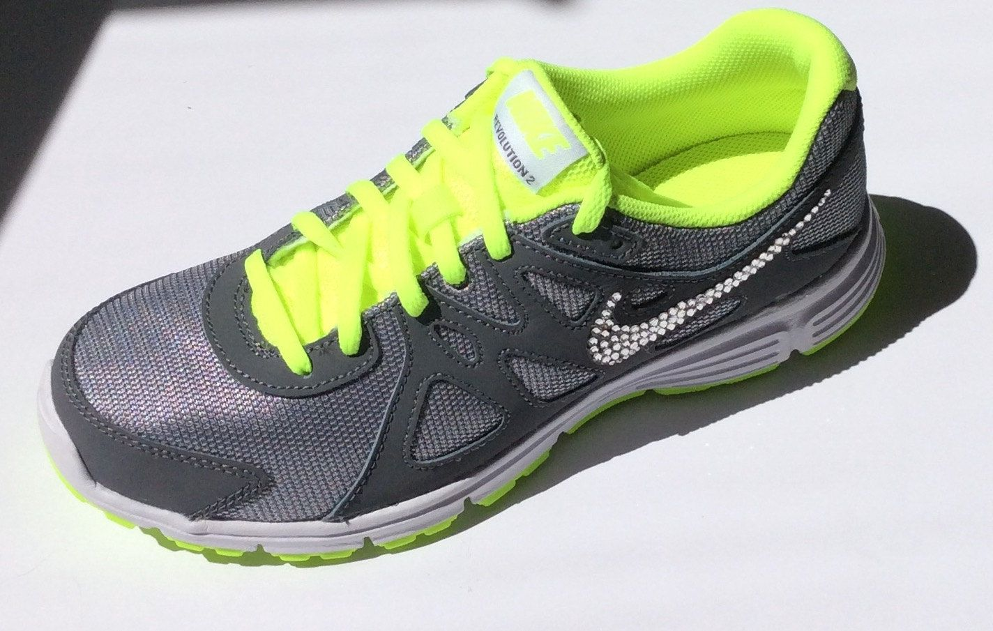 ac77b3c9a991 Swarovski Crystal Nike Revolution 2 for Women and Girls