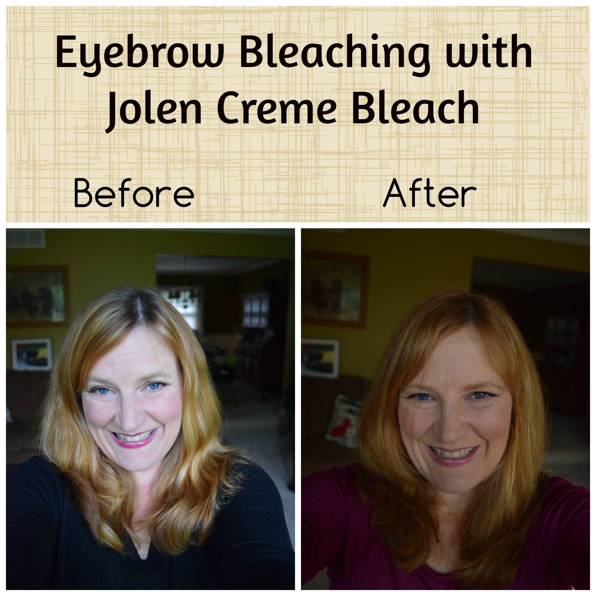 Eyebrow Bleaching With Jolen Creme Bleach Beauty Tech And Gadgets