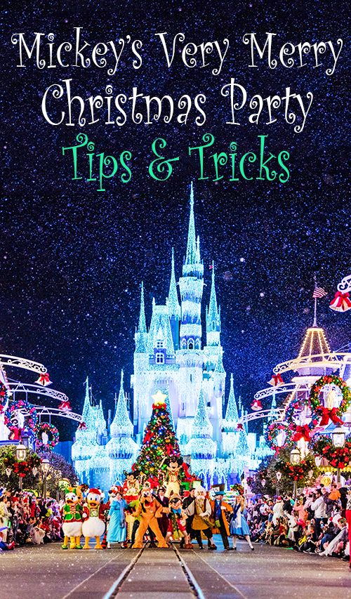 2017 Mickey's Very Merry Christmas Party Tips | Disney trips ...