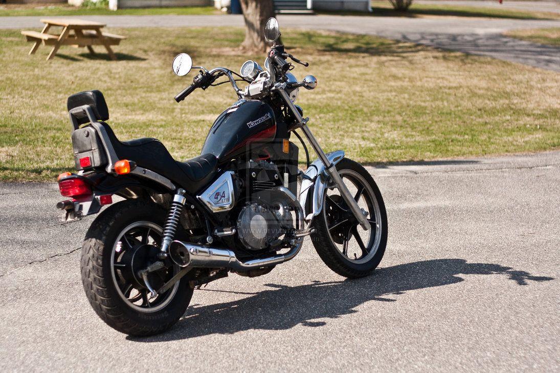 moto kawasaki 454 ltd
