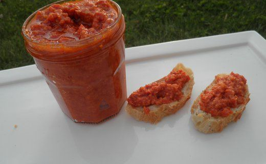 Recette de Caviar de tomates séchées - i-Cook'in