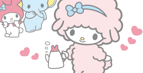 Sanrio: My Sweet Piano and My Melody:)