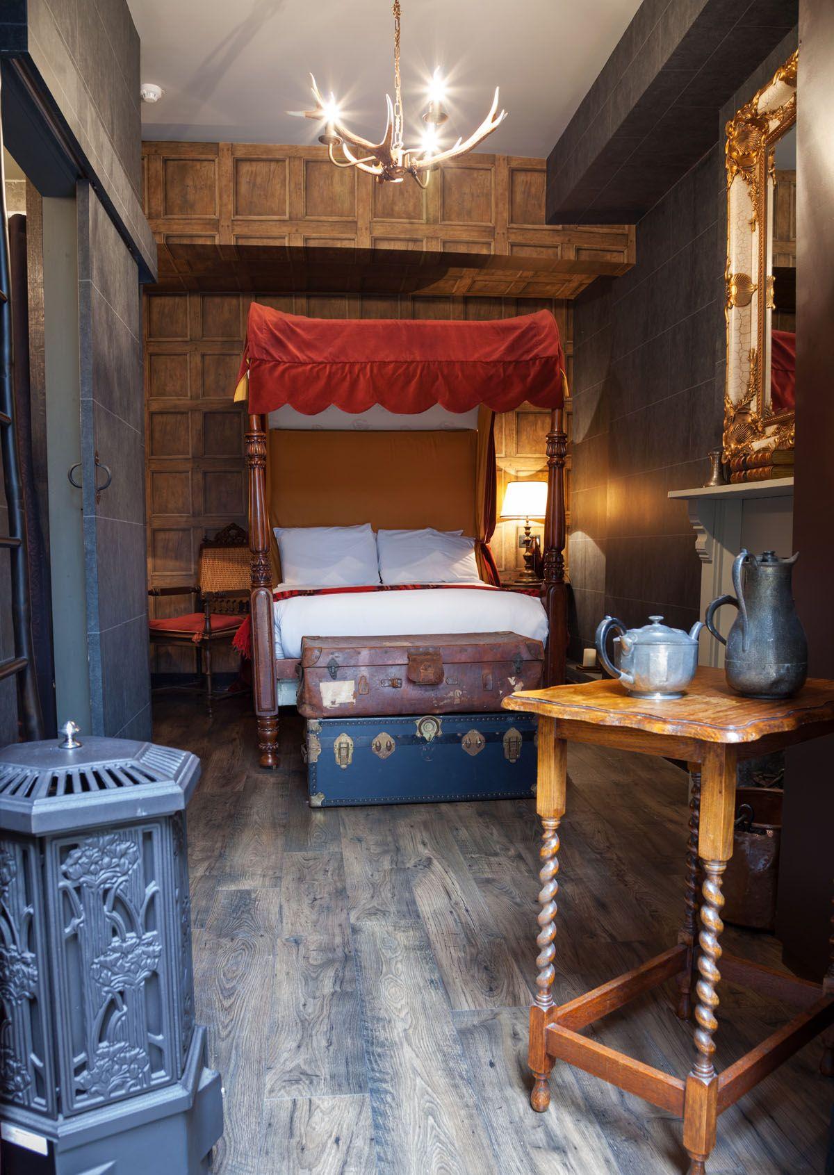 Idee Deco Chambre Londres qui veut dormir dans cette étonnante chambre harry potter