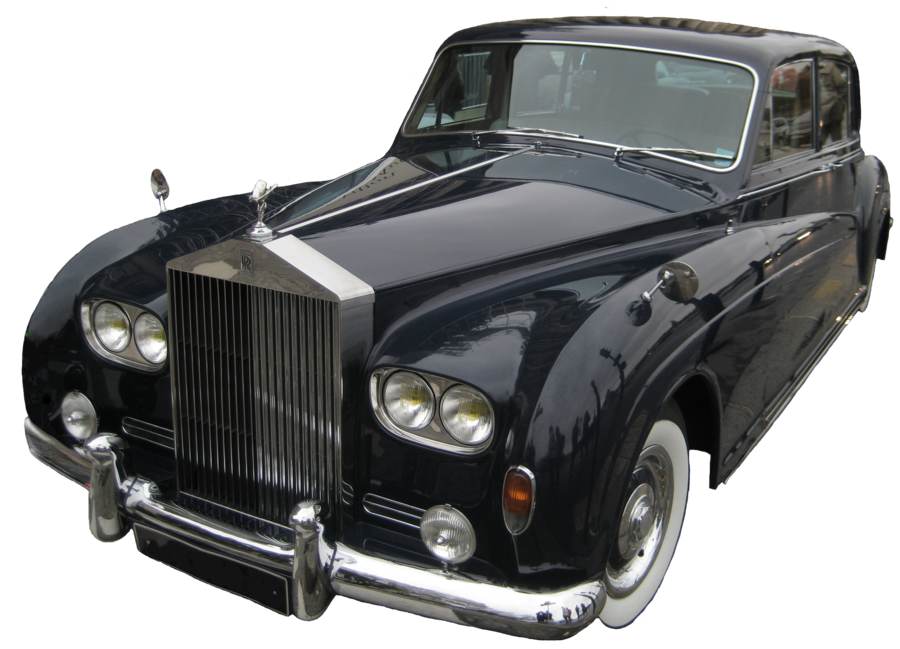 There S Nothing That Says Class Like Showing Up In A Rolls Fancy Cars Classic Cars Dog Car Accessories