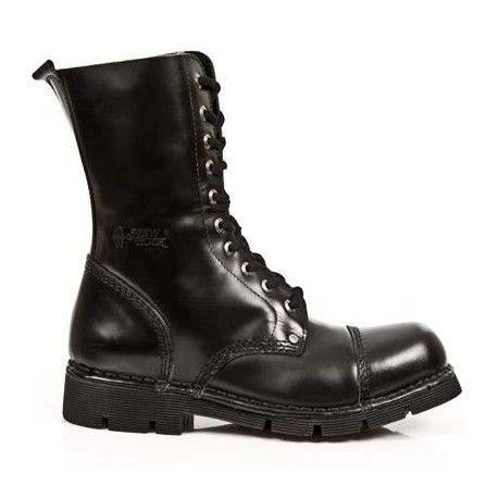 434a7c20f9d Botas militares negras de piel | zapatos/sneaker | Botas militares ...