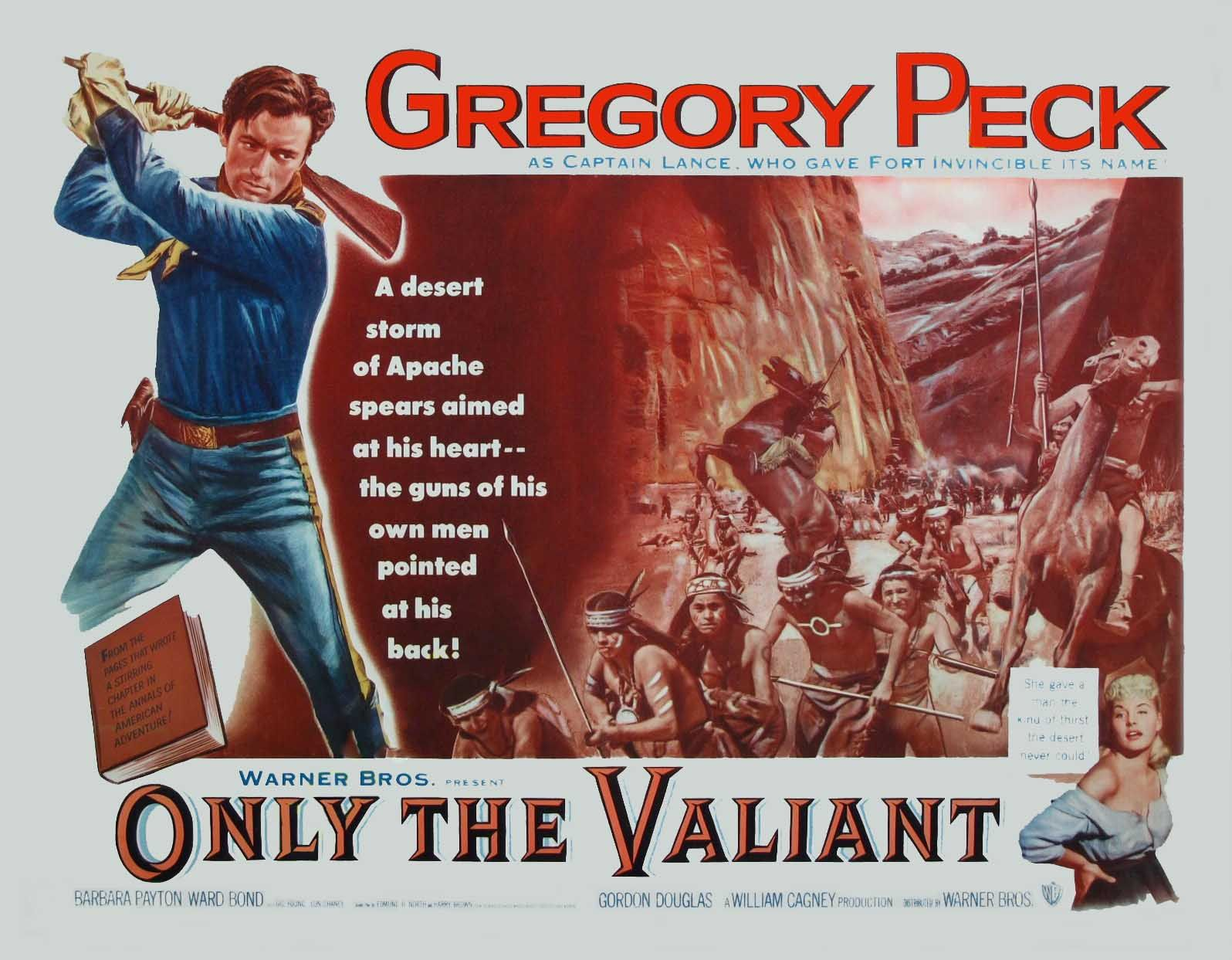 Only the Valiant (1951) TITLE CARD | The valiant, Lobby cards ...