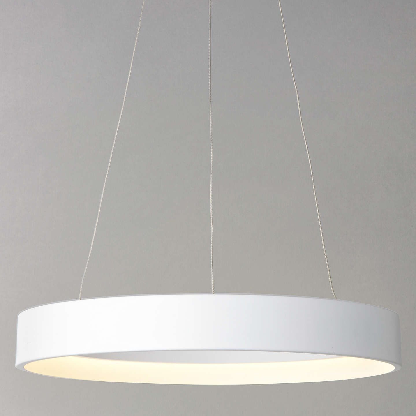 John Lewis Partners Jorgen Led Hoop Ceiling Pendant White Lighting Ceiling Lights Led Hoops