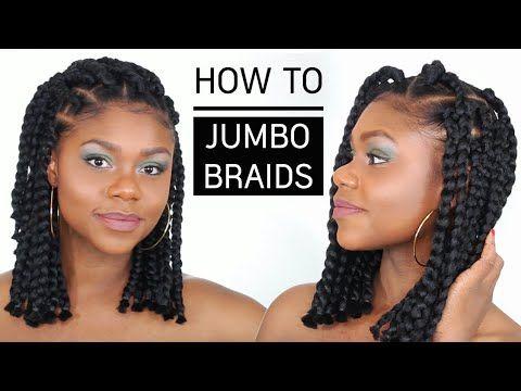 Jumbo Box Braids Negezdik Be