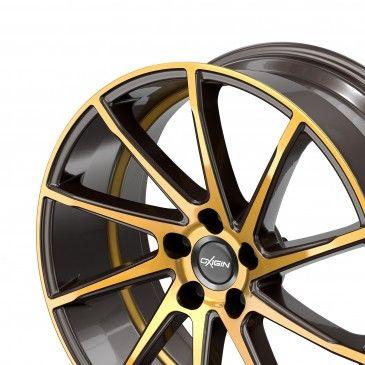 oxigin 20 attraction brown gold polish felgen alufelgen audi. Black Bedroom Furniture Sets. Home Design Ideas