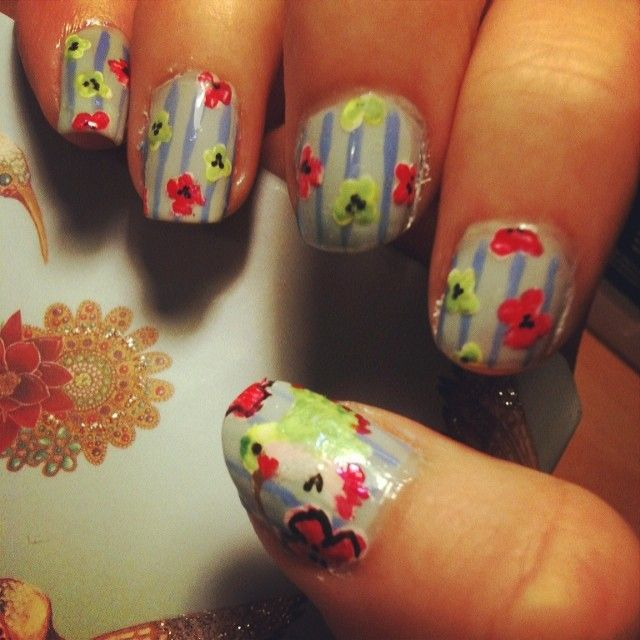Hummingbird Nail Art My Own Nail Art Pinterest