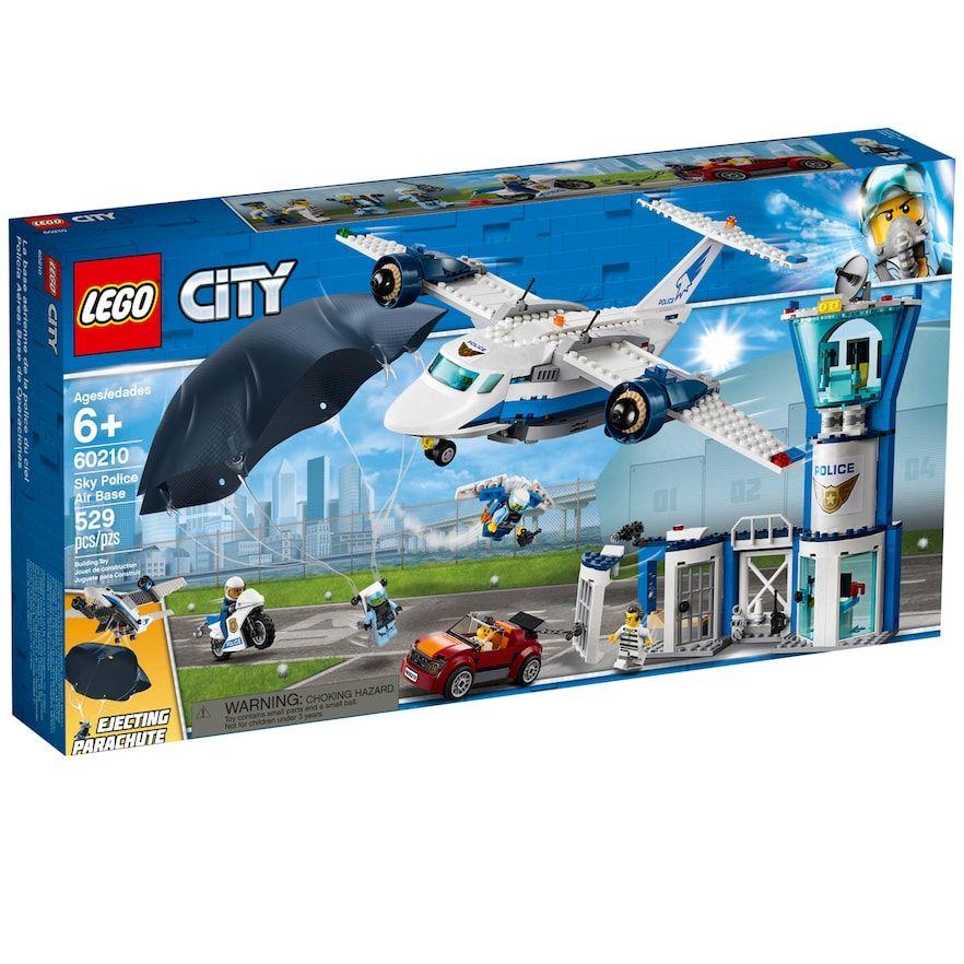 Lego City Police Air Base 60210 Lego City Lego City Police Lego Police