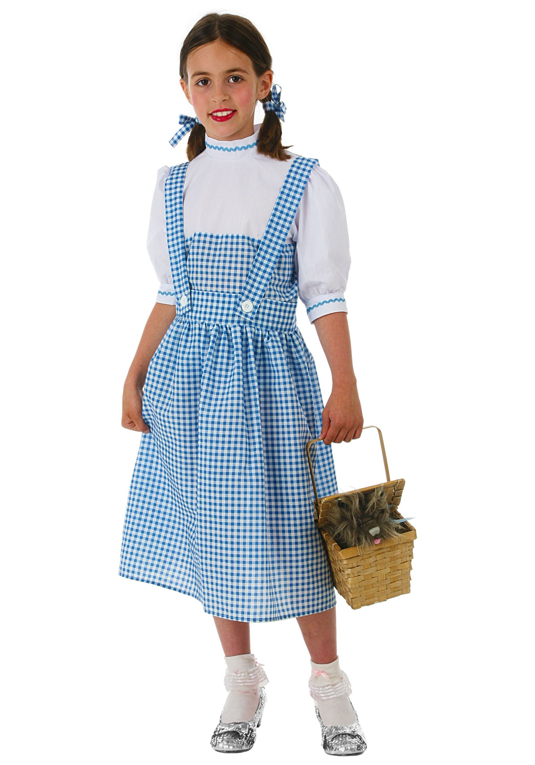 Child Kansas Girl Dress Costume | Best Costumes, Halloween ...