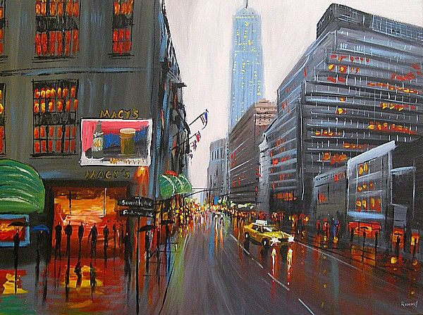 paintings of new york to purchase rumney canvas art art 12 canvas art painting paris art. Black Bedroom Furniture Sets. Home Design Ideas
