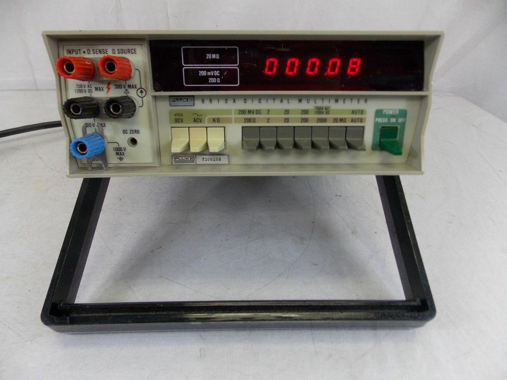 FLUKE 8810A DIGITAL MULTIMETER | Electrical Engineering