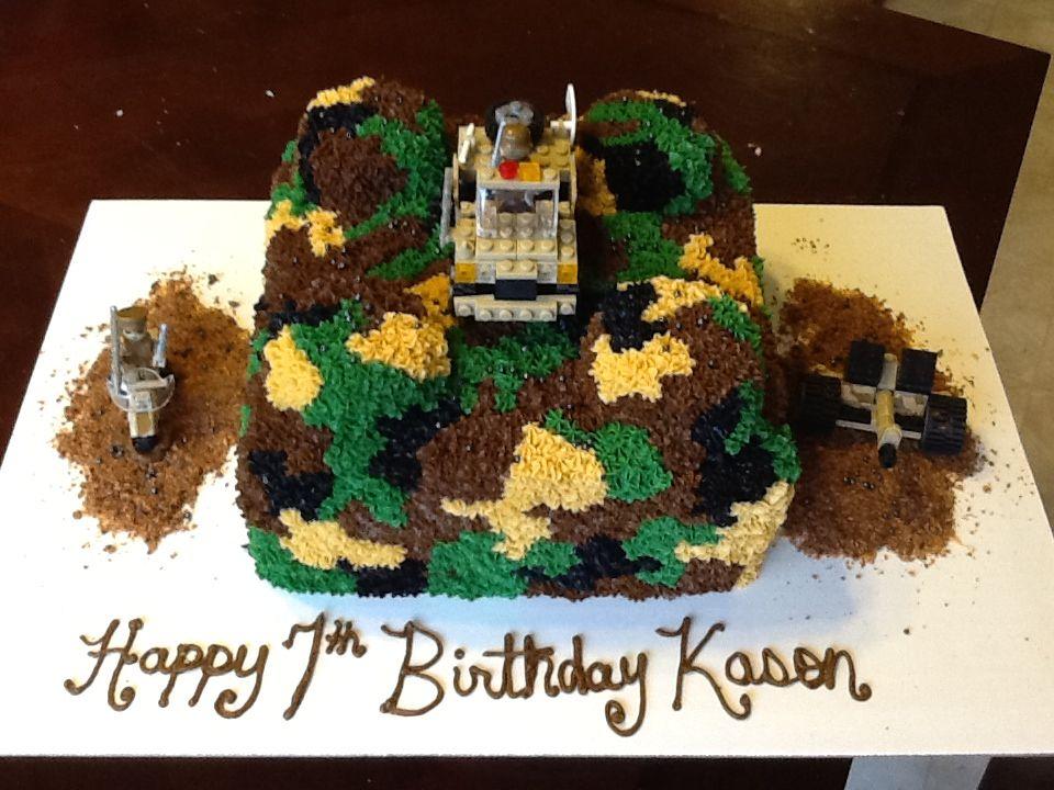 Miraculous Lego Army Cake Army Cake Lego Army Birthday Funny Birthday Cards Online Benoljebrpdamsfinfo