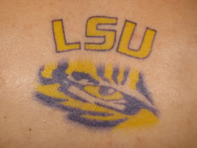 Need Lsu Tattoo Pics