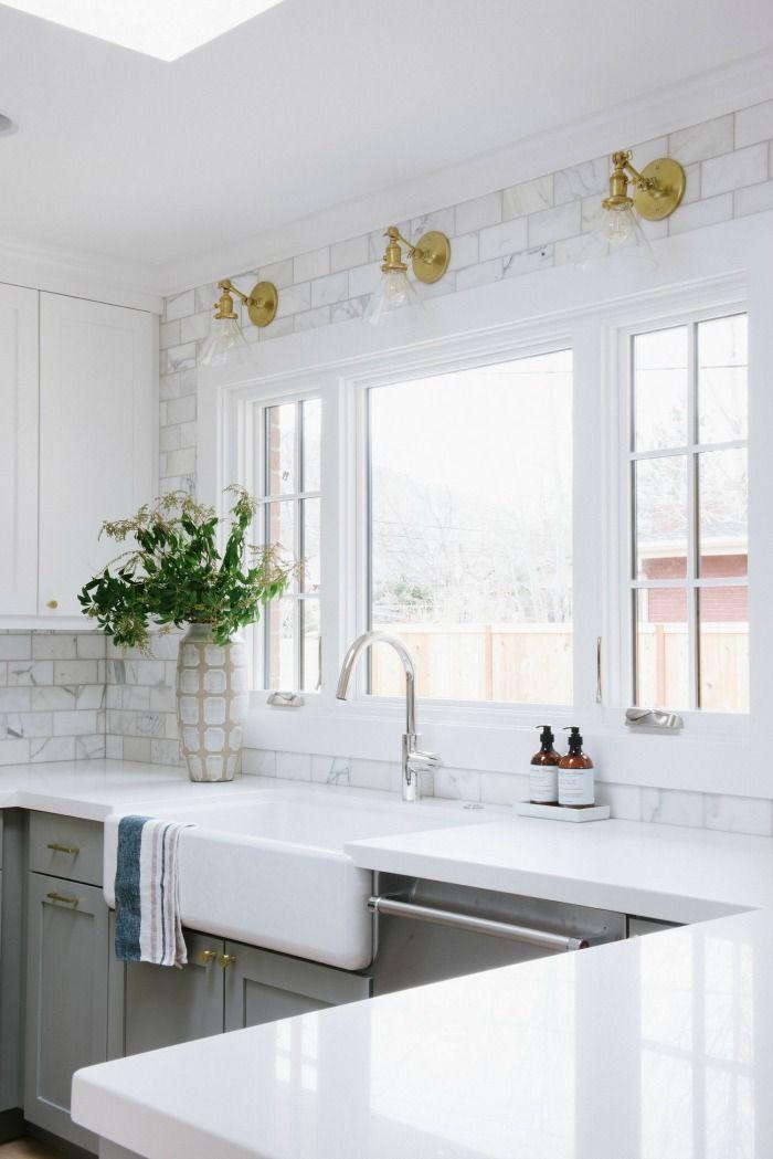Kitchen Backsplash Tile How High To Go Living Room Kitchen
