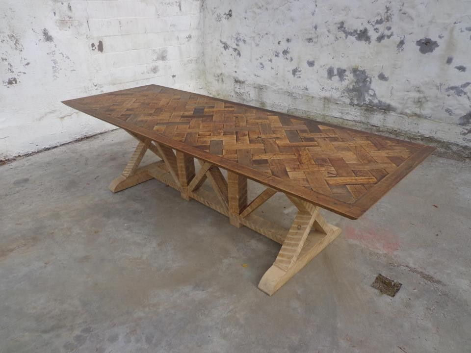 historic modern wood furniture. Reclaimed Parquet Table-- Beautiful Antique \u0026 Wood From Old Historic Homes And Building Across The Northeast; Vintage Love It For A Dining Modern Furniture R