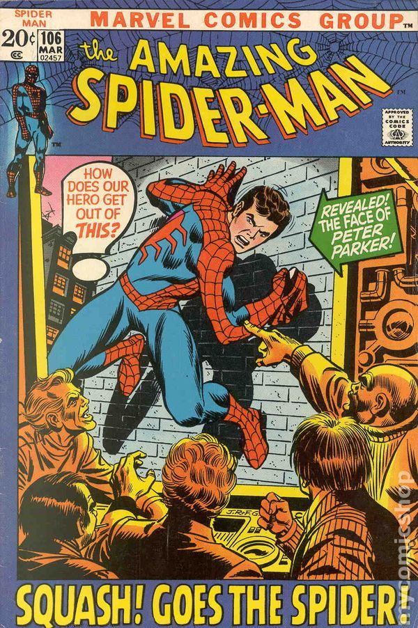 Amazing Spider-Man (1963 1st Series) 106 | Marvel Comics Covers ...