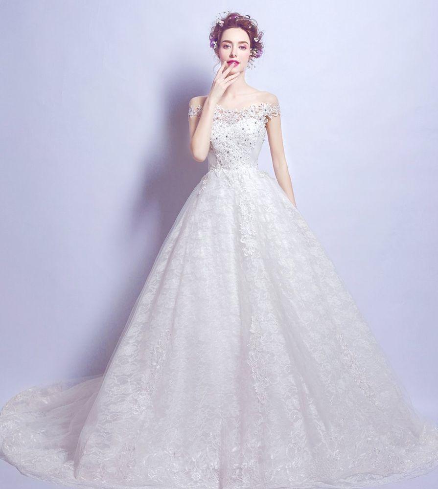 New wedding dress bridal gown any size custom